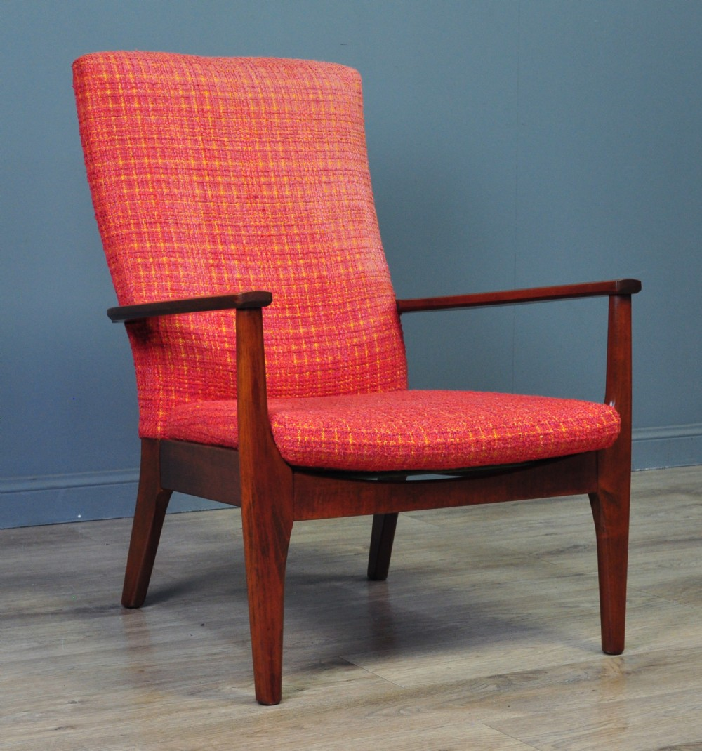 attractive vintage parker knoll retro fireside armchair easy chair